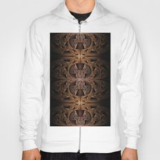 Steampunk Engine Abstract Fractal Art Hoody