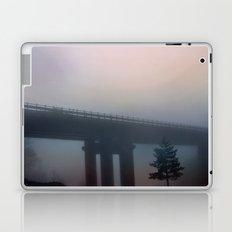 Misterious bridge Laptop & iPad Skin