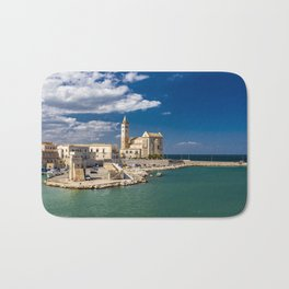 The beautiful Romanesque Cathedral Basilica of San Nicola Pellegrino, in Trani Bath Mat