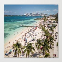 Junkanoo Beach Canvas Print