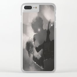 Rock and Roll Steady Clear iPhone Case