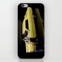 reservoir dogs iPhone & iPod Skins featuring Reservoir Dogs 1965 Cadillac Coupe De Ville by Ewan Arnolda