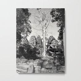 Bayon Temple - Cambodia Metal Print