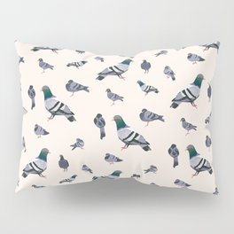 Bird poo. Pillow Sham