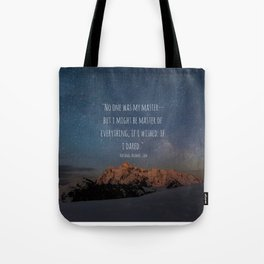 A Court Of Mist And Fury Quote, Velaris Tote Bag