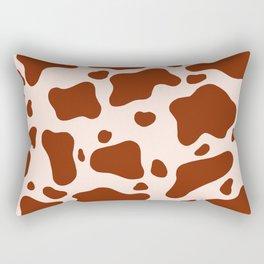 How Now Brown Cow? Rectangular Pillow