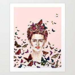 Frida Kahlo - Mexico Art Print