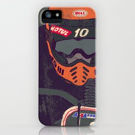 race shit iPhone Case
