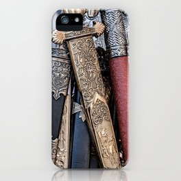 Cold steel arms iPhone Case