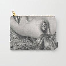 Half Portrait Carry-All Pouch