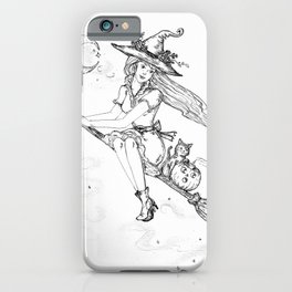 we fly tonight witch and friends iPhone Case