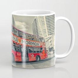 London Mormon Red Bus Coffee Mug