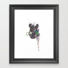 R.I.P. Love R.I.P. Framed Art Print