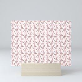 Red  Heart Mini Art Print