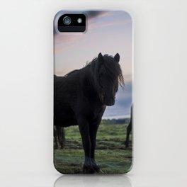 Midnight Ride iPhone Case