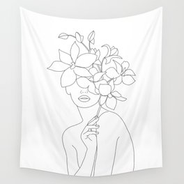 Lady Orchidea Wall Tapestry