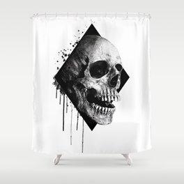 Darkness skull Shower Curtain