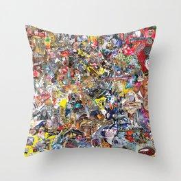 BQ2127 - Rocket Deception Throw Pillow