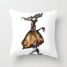 I Made This While I Watched Aziz Ansari's New Comedy Special Throw Pillow