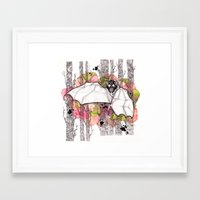 bat Framed Art Prints featuring Bat by Kapena Ornellas