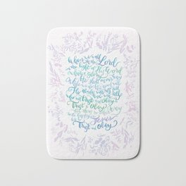 Trust and Obey - Hymn Bath Mat
