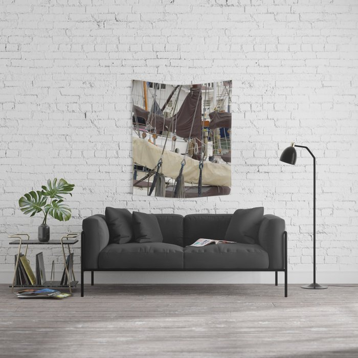 Veerhaven Rotterdam Wall Tapestry