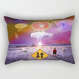 The Day of the Jellies Rectangular Pillow