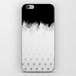 Christmas Geometric Pattern iPhone Skin