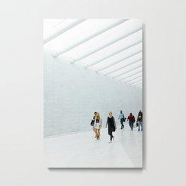 WTC Transport Hub, NYC Metal Print