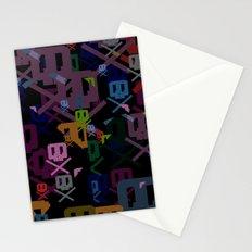 Glitchy Stationery Cards