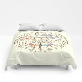 Vitruvian Turtle Comforters