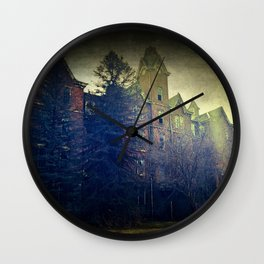 House Of Nightmares Wall Clock
