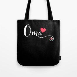 Oma Grandma Funny Birthday Mother Day Gift Tote Bag