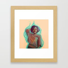 Imminent  Framed Art Print