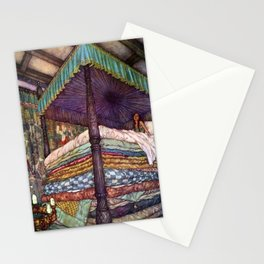 Princess and the Pea By Edmund Dulac Stationery Cards