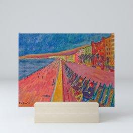 Waiting on Tsunami Mini Art Print