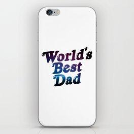 Worlds' Best Dad iPhone Skin