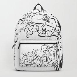 TRAGIC FLOWERING WHALE Backpack