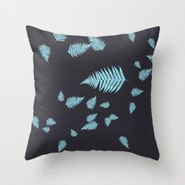 Forest Fern Throw Pillow