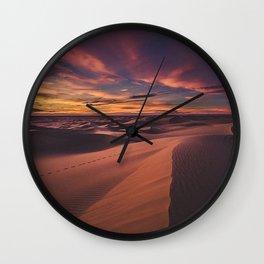 Arabian desert Wall Clock