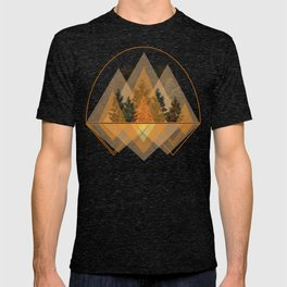 try again tree-angles mountains T-shirt