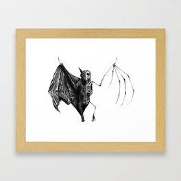 Half The Bat I Used To Be Framed Art Print