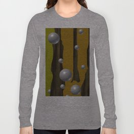 one red ball in the forest. Long Sleeve T-shirt