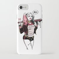 harley iPhone & iPod Cases featuring HARLEY by David M. Buisán