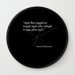 Kenny South Park Wall Clock