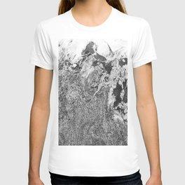 Marble Mountain Black and White I T-shirt