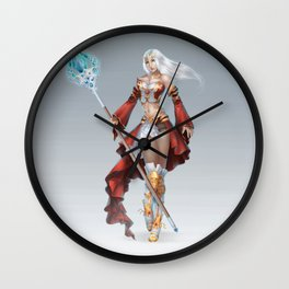 The wizard's enchantments Wall Clock