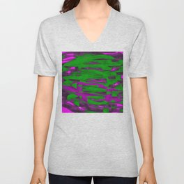 Power Squiggle Unisex V-Neck