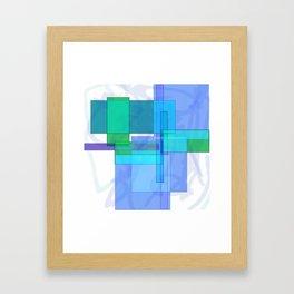 Squares combined no. 4 Framed Art Print
