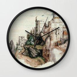 Albrecht Durer - Fortified Castle Wall Clock